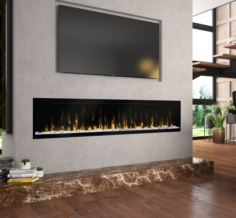 Electric Linear Fireplaces