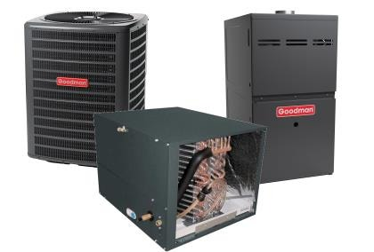 Goodman Horizontal Furnaces & AC Systems